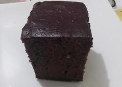 bolo de whey protein chocolate