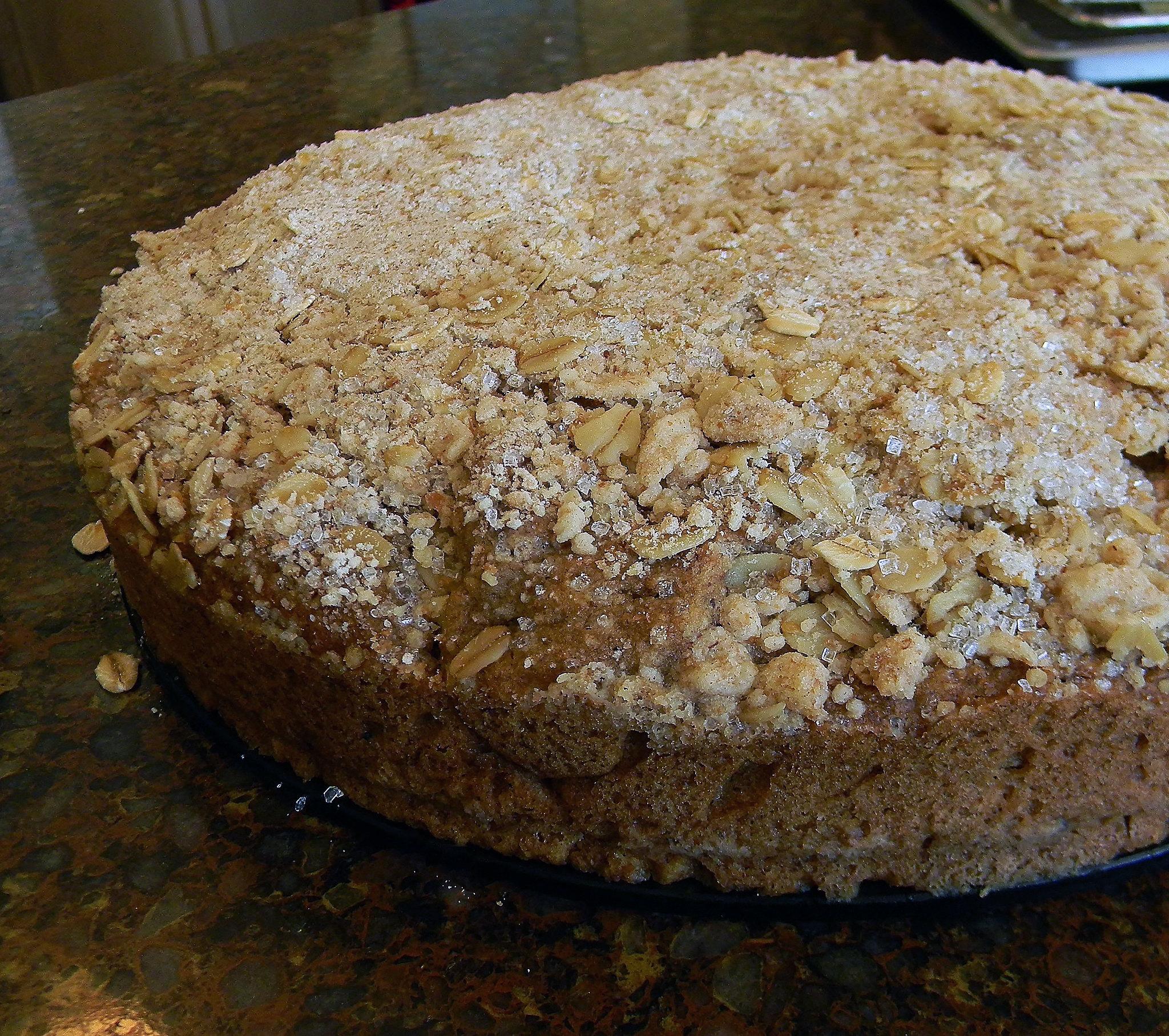 """Caramel Doughnut"" Cake #SundaySupper"