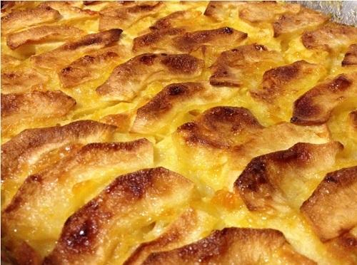 TORTA DE MAZANA