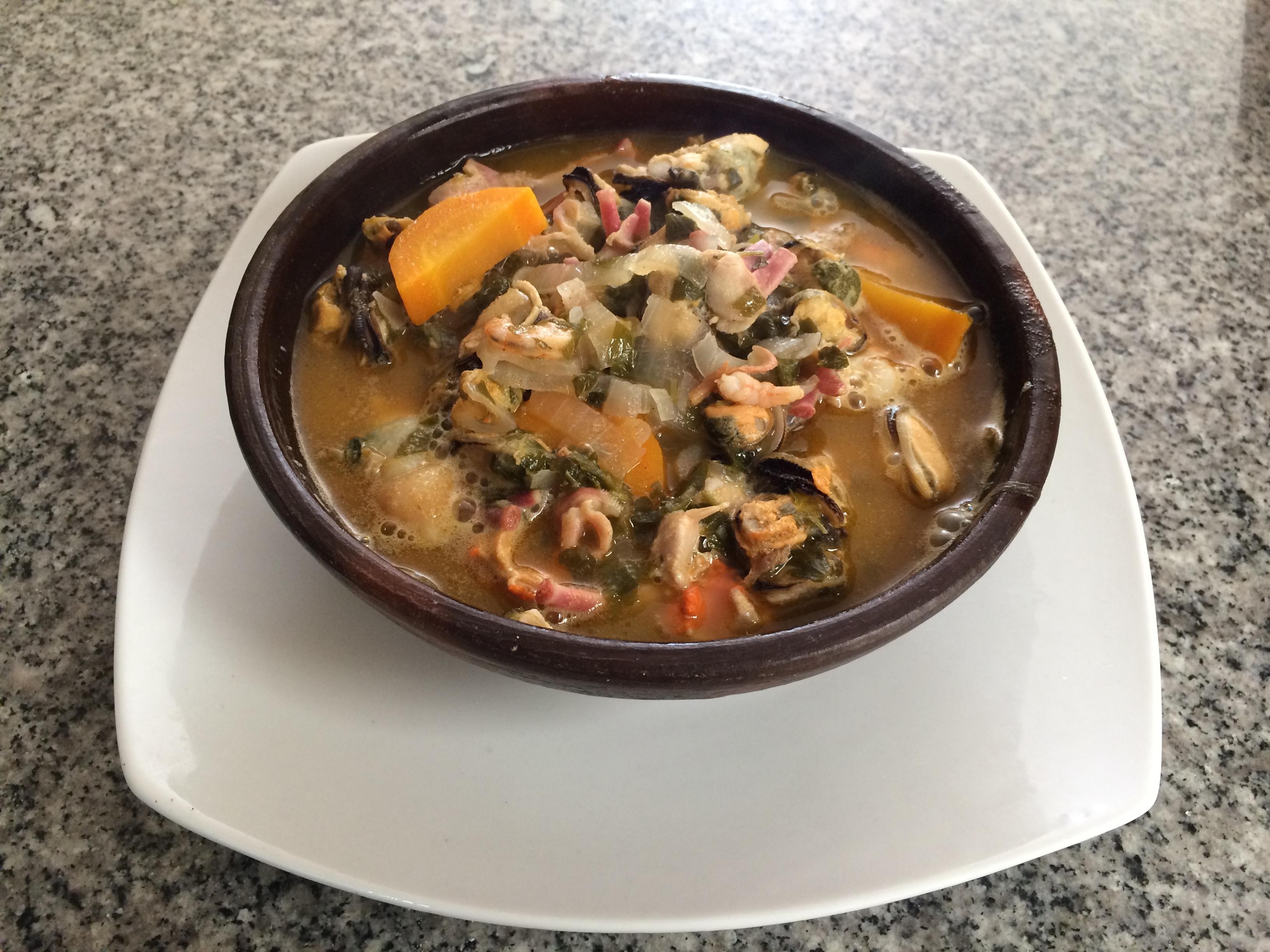 Caldillo de Mariscos / Sopa Marinera