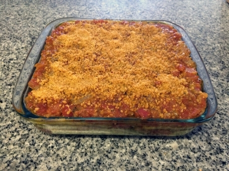 Lasaña / Lasagna de berenjenas