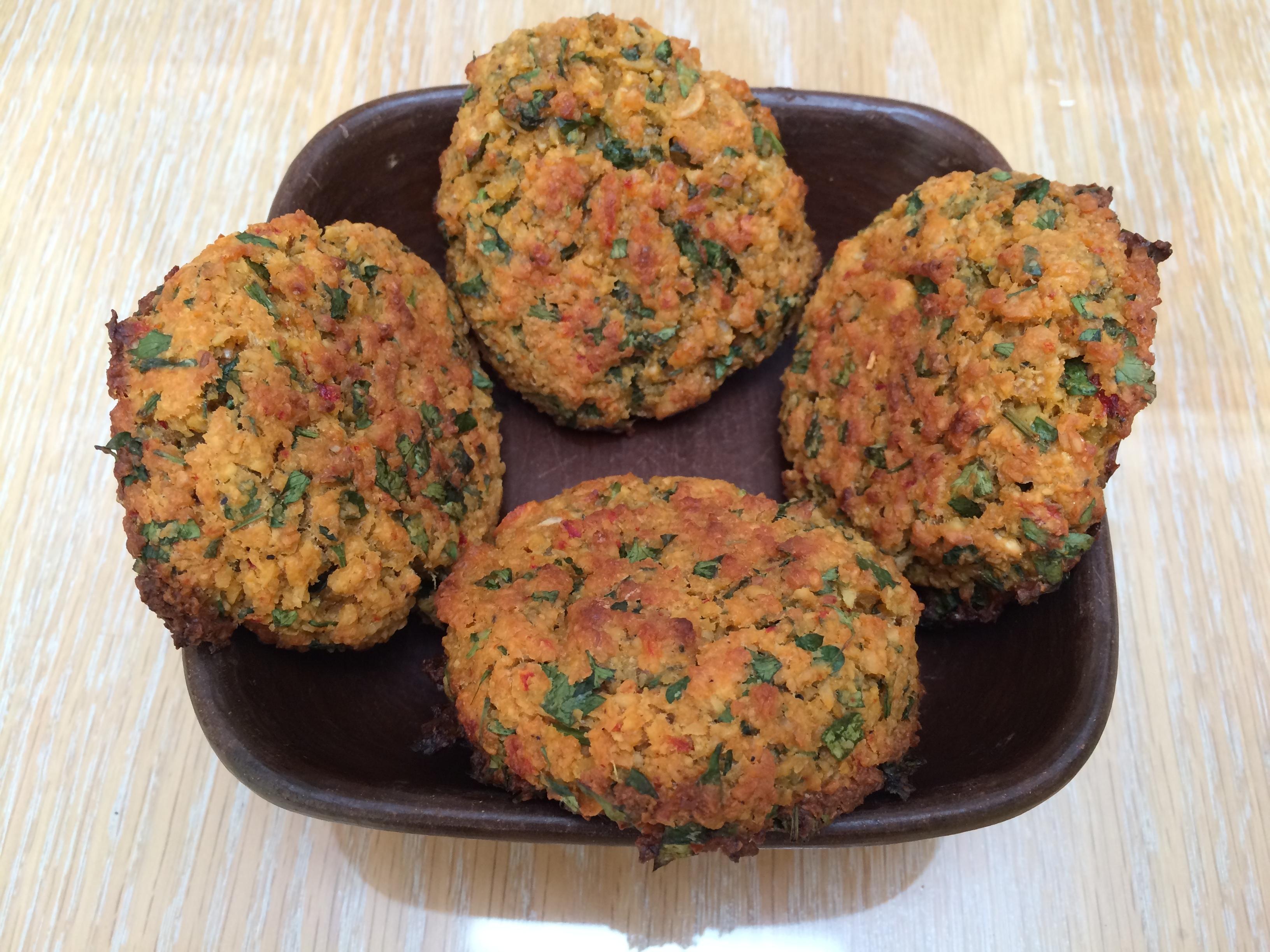 Falafel – Croqueta de garbanzos árabe