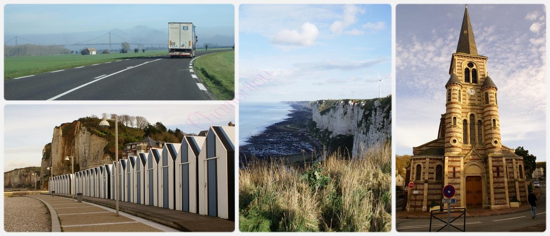 La côte Normande. Du 22 au 28 Novembre.