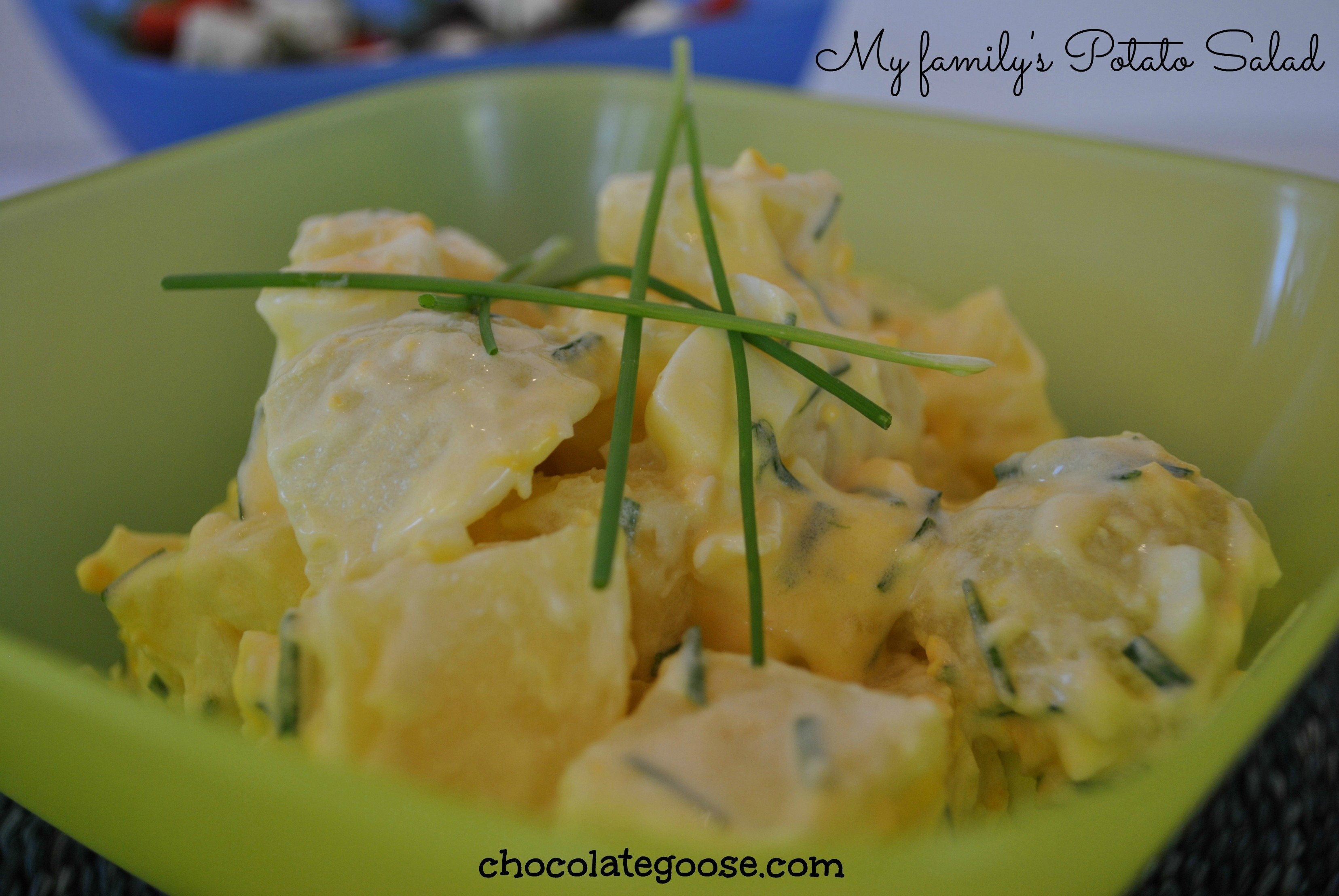 Good old traditional South African Potato Salad