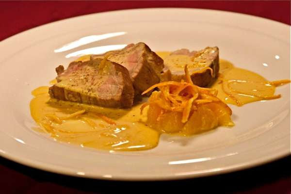 ψαρονέφρι με σάλτσα πορτοκαλιού: ο ήλιος φλερτάρει στο πιάτο