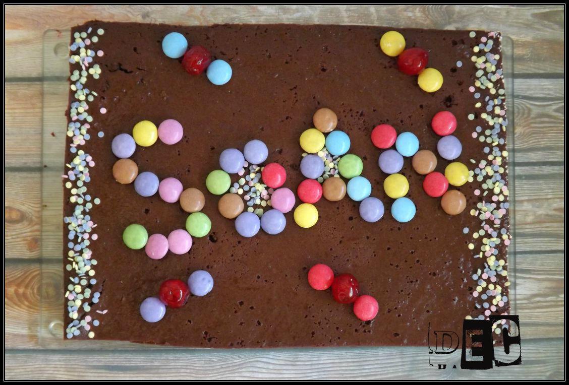 Gâteau d'anniversaire au chocolat mascarpone {selon Cyril Lignac}