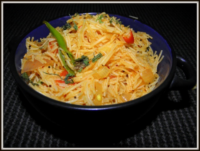 Tomato Shaavige(Semiya) Bhath |Quick Breakfast dish