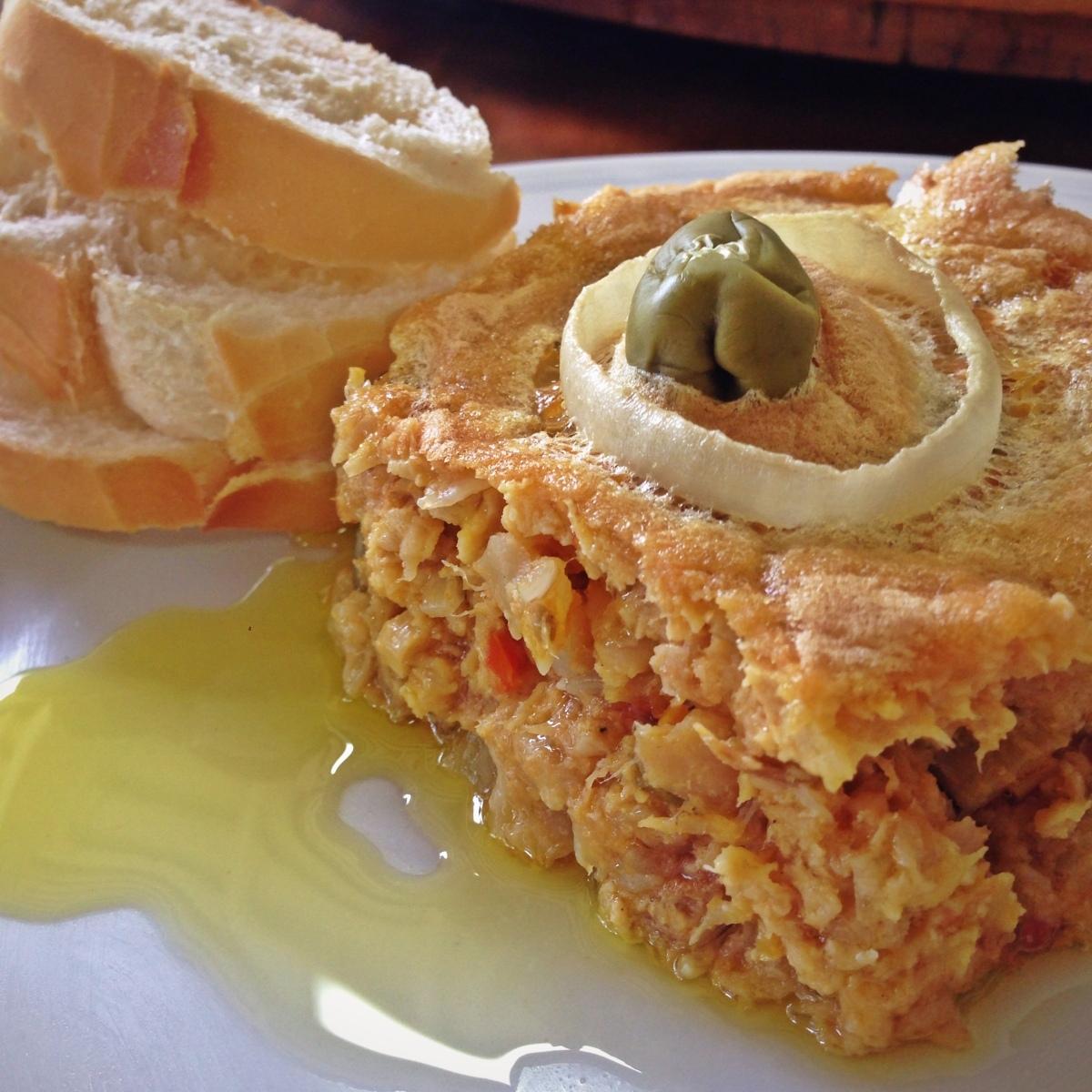 Torta Capixaba de Bacalhau