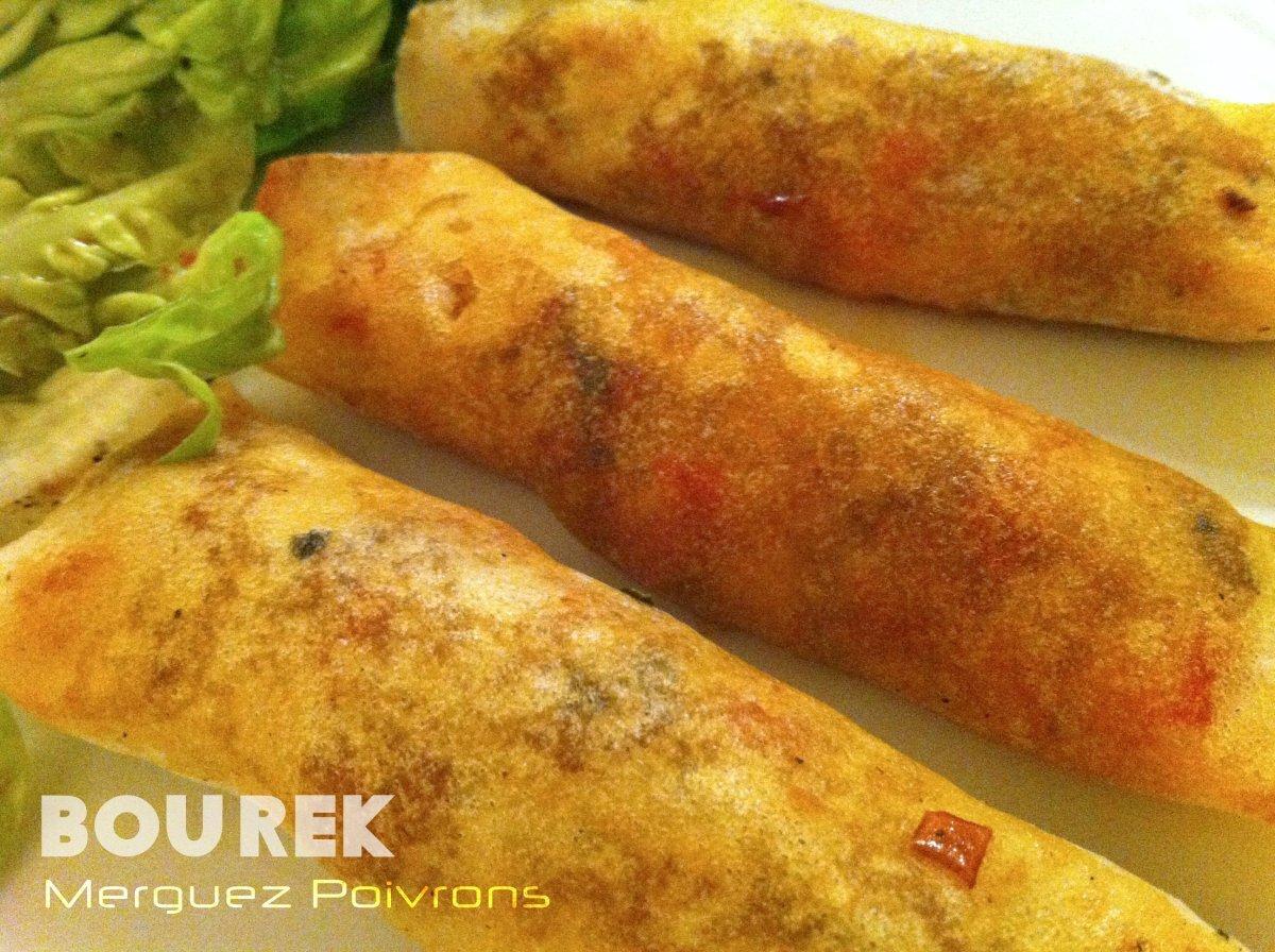 Bourek Merguez poivrons