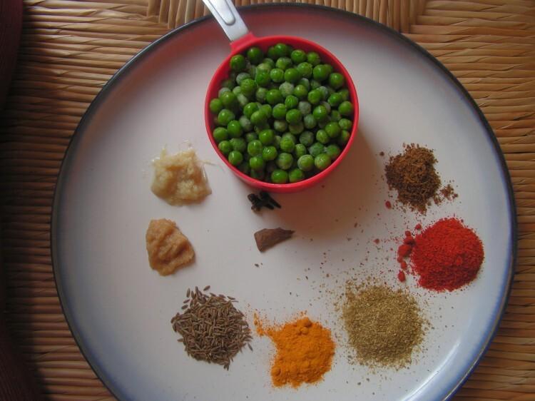 Mushroom Peas masala version -2 (Restaurant style)