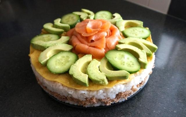 """Sushi """"Cake"""""""