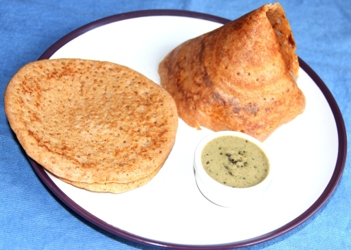 Carrot dosa/Crepes