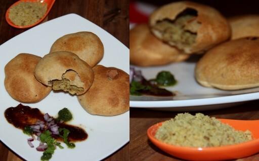 Baked Kachoris and Kachori chaat