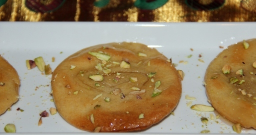 Baked Chirote/Glazed Sweet Puri