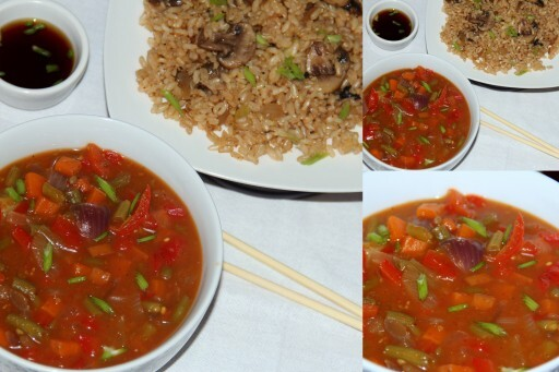 Indo chinese vegetable curry