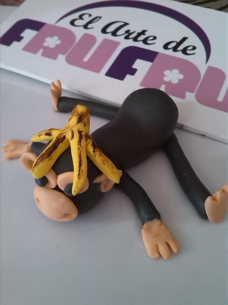 Como modelar un Mono en fondant
