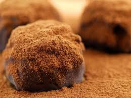 Receita de Trufa tradicional de chocolate