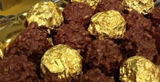 Trufas de Ferrero Rochê