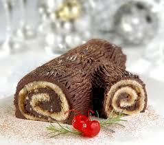 Tronco de Natal-Buchê de Noël