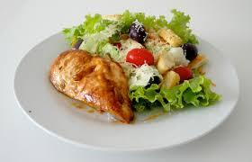 SALADA DE QUEM NÃO QUER SALADA  -Almoço da Dieta do Abdômen
