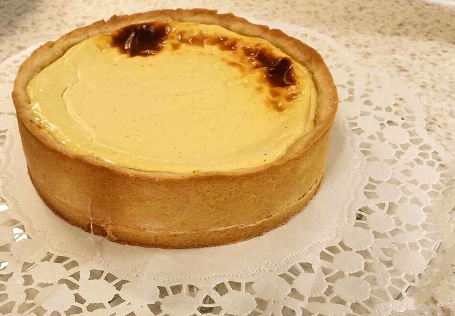 Gebackene Topfentorte I Austrian Cheesecake
