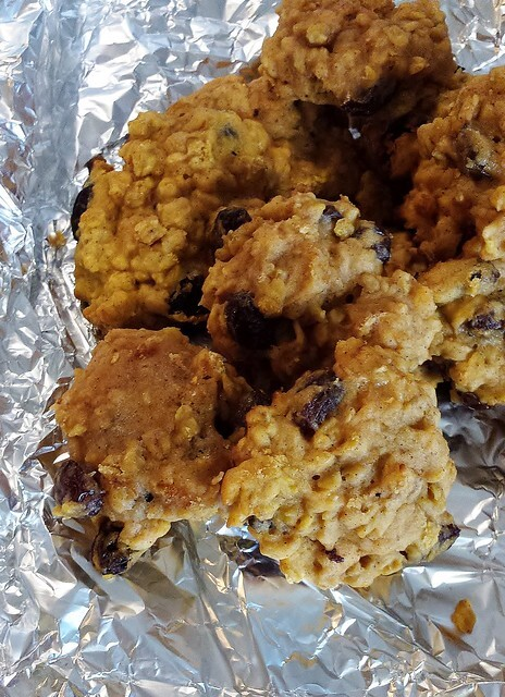 Carrot Oatmeal Raisin Cookies #SundaySupper