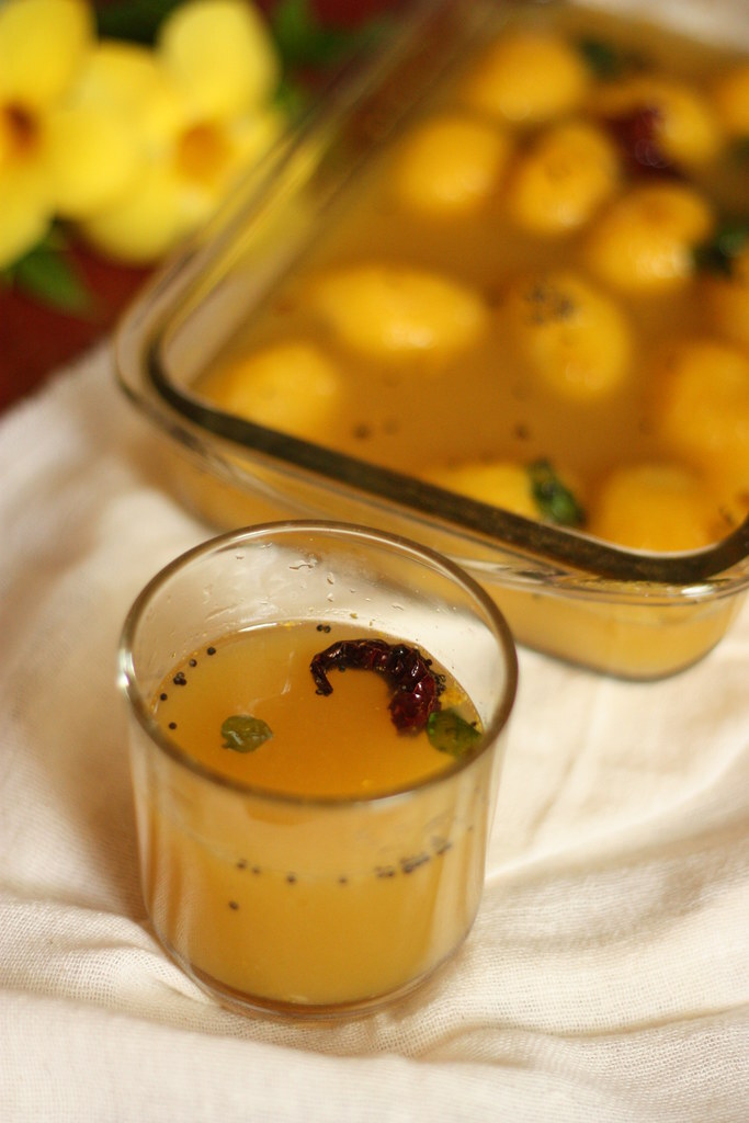KaaTu Mavina Hannina Saaru/Gojju Recipe   Wild Mango Soup from Udupi-Mangalore