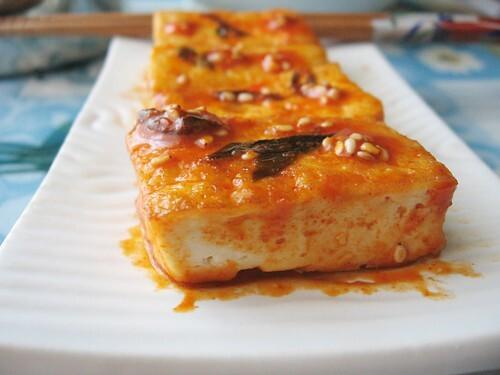 Korean Spicy Tofu 韩式辣豆腐