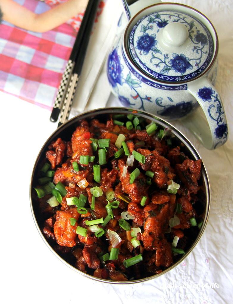 Mushroom Manchurian Recipe - Mushroom Recipes - Indo Chinese recipe with mushroom