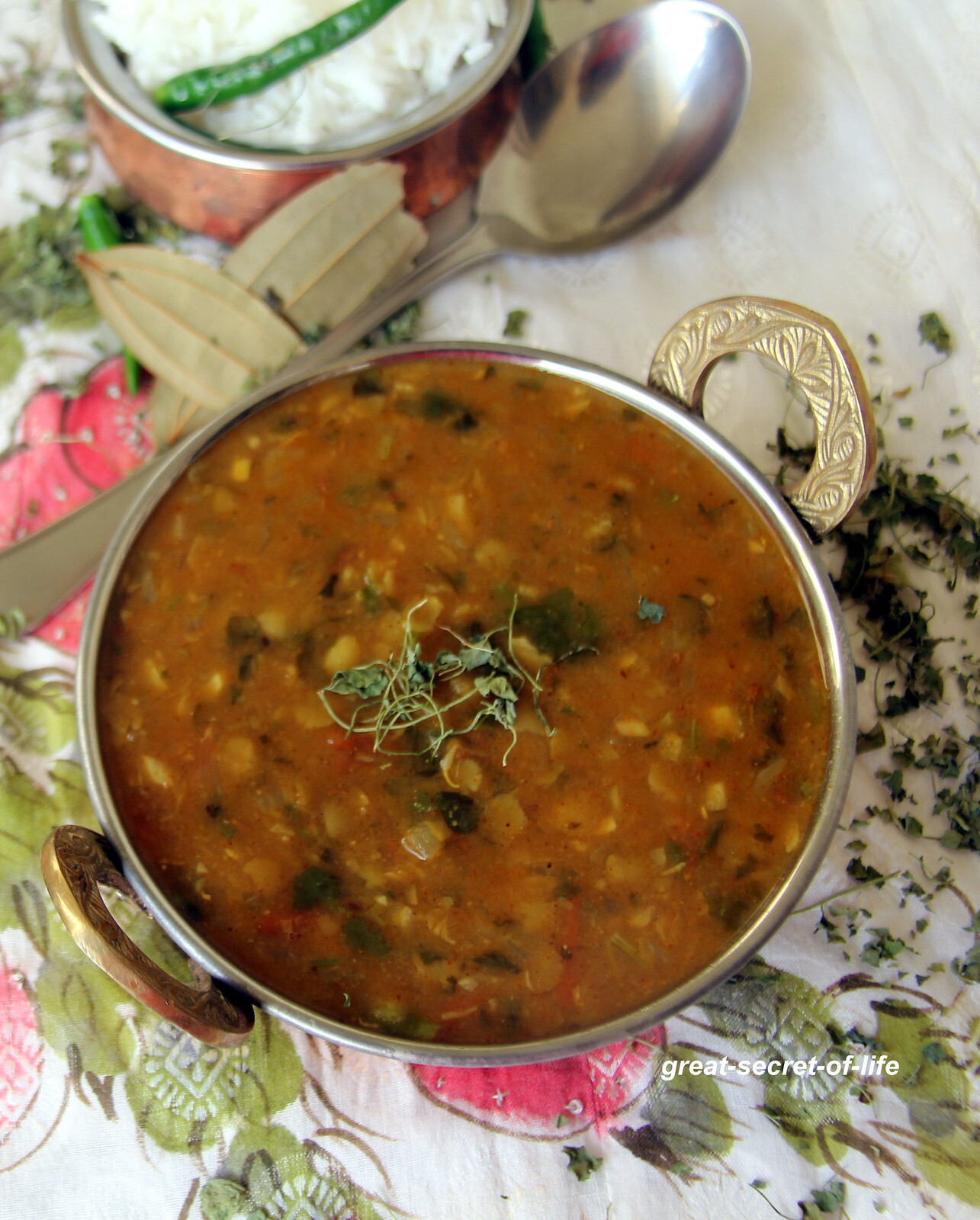 Arhar Dal Fry - punjabi arhar dal fry recipe - Simple dhal fry recipe