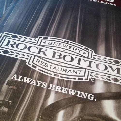 Resto Review: Rock Bottom Brewery