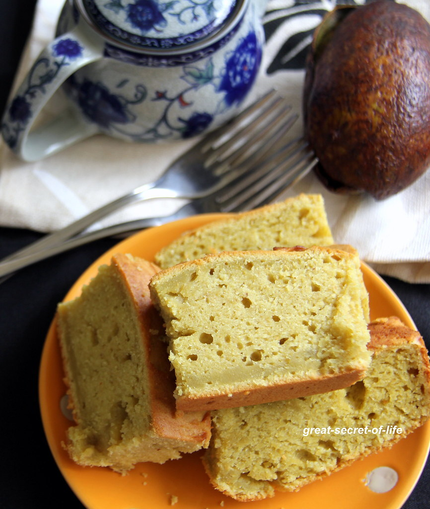 Avocado Pound cake - Eggless Avocado pound cake - Eggless avocado cake