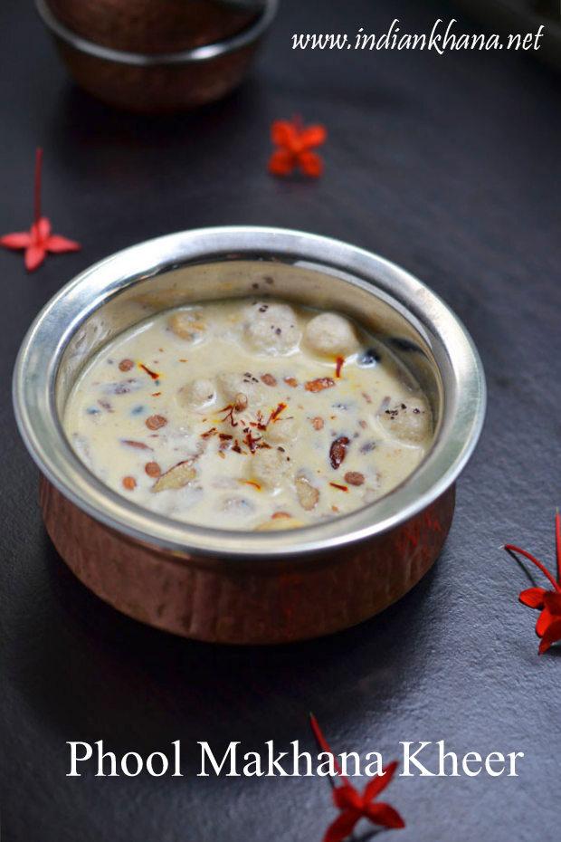 Phool Makhane Ki Kheer | Makhana Kheer Recipe | Navratri Vrat Recipes