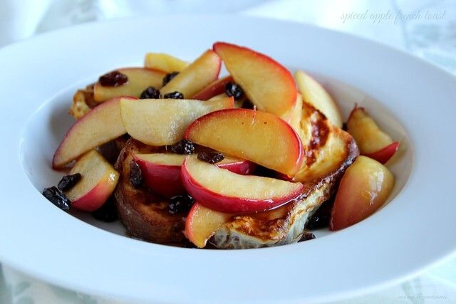 Spiced Apple French Toast