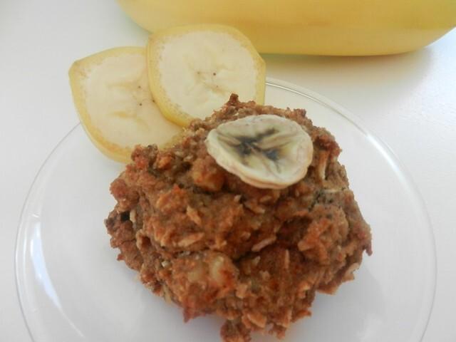 La BEDON-BANANE (galette SANS GLUTEN, SANS PRODUITS LAITIERS: banane et noix de coco)