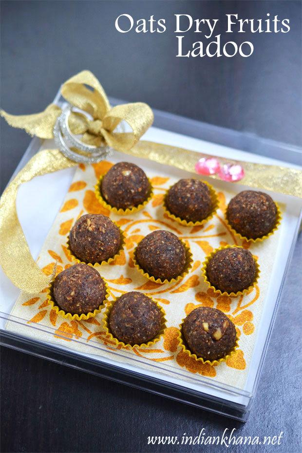 Oats Dry Fruits Ladoo | Dry Fruits Laddu Recipe | Easy Diwali Sweets Recipe