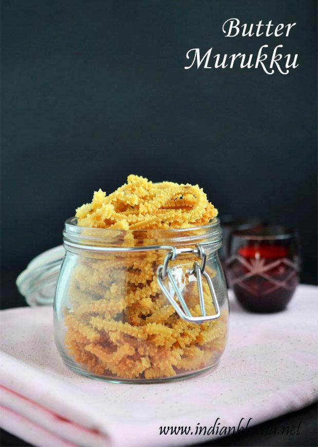 Butter Murukku | Butter Murukku Recipe | Easy Diwali Snacks Recipes
