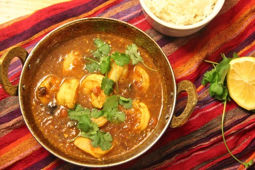 Ambat Tikhat Kolambi – Hot and Sour Shrimp Curry
