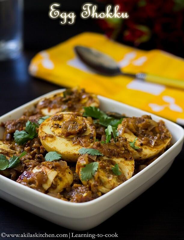 Egg Thokku | Easy Egg Recipes | South Indian Egg Thokku Recipe | Sunday Special Recipes | Egg side dish