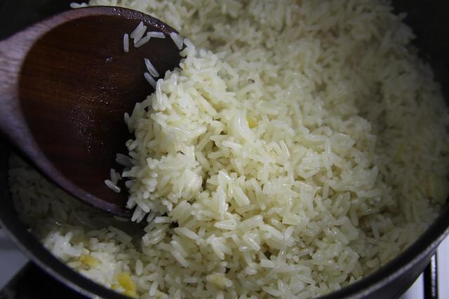 Como hacer un arroz blanco perfecto.