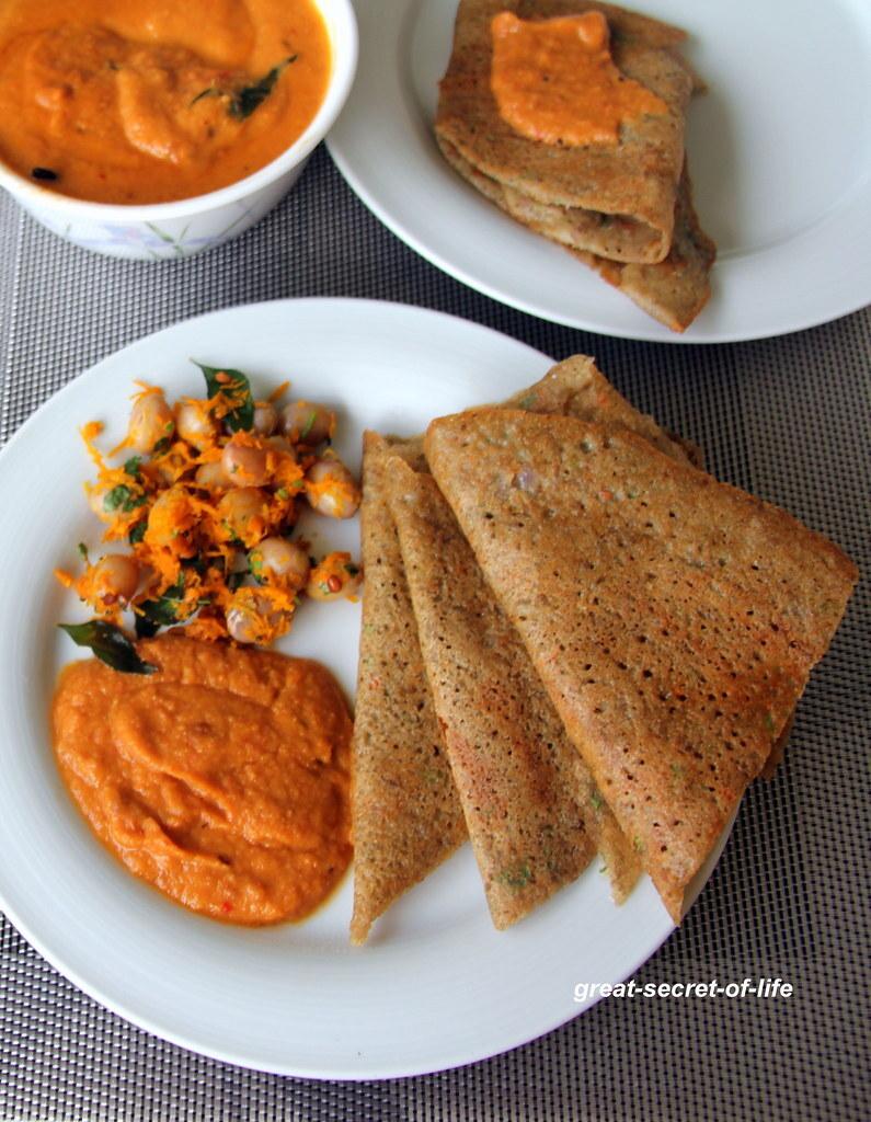 Horse gram lentil adai - Kollu paruppu Ada - Horse gram lentil adai ada - Healthy dinner recipe - Healthy breakfast recipe
