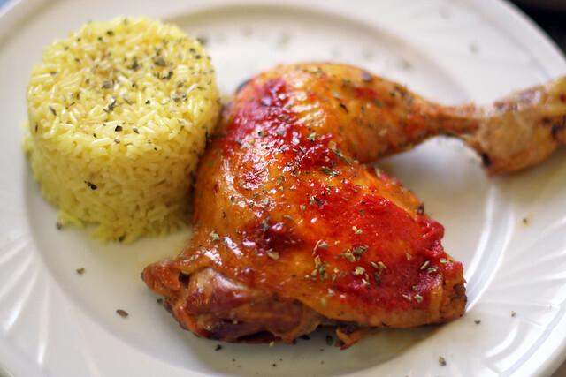 Pollo con Salsa Picante Horneado a la Bolsa