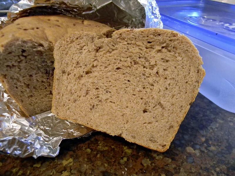Tender Whole Wheat Bread #SundaySupper