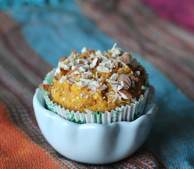 Cornmeal Pumpkin Anytime Muffins ( No Added Sugar or Butter!)