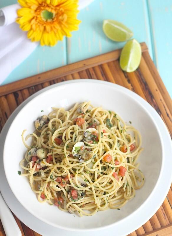 Espaguete ao vôngole, receita de chef e fácil de fazer
