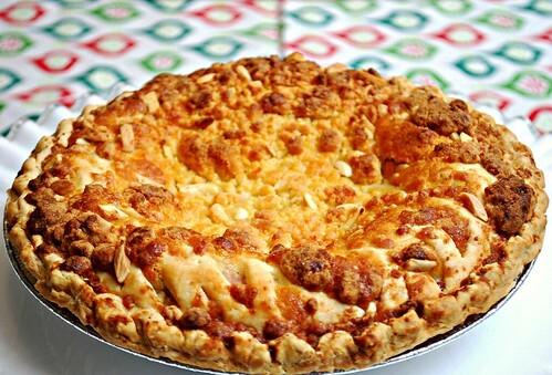 10 Days to Christmas Countdown! - Dutch Apple & Raspberry Pie