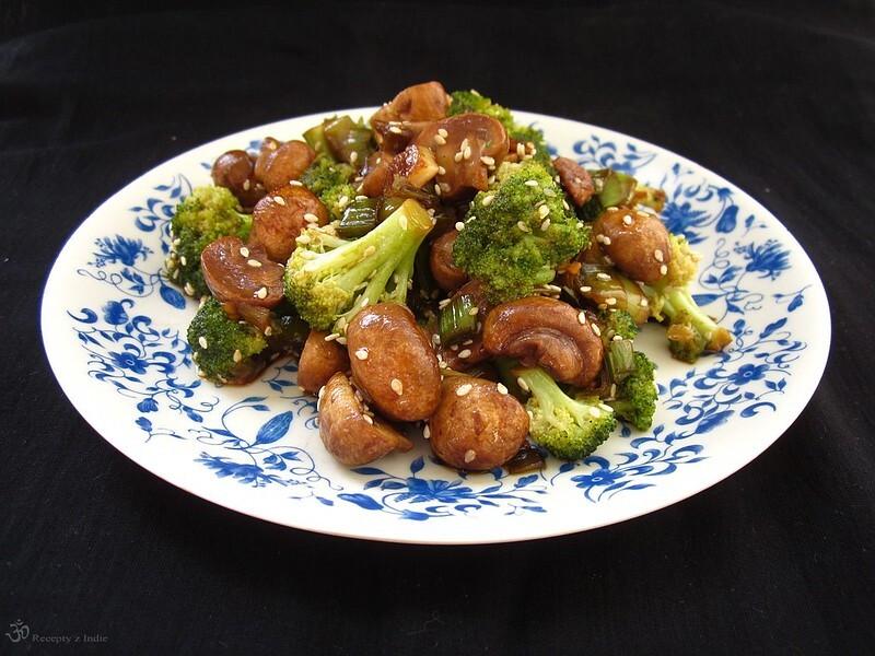 Brokolica so sampinonmi a porom