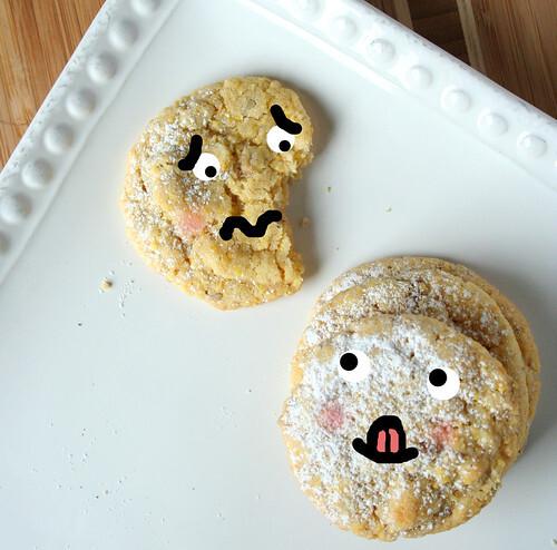 Cornmeal Pecan Cookies Recipe
