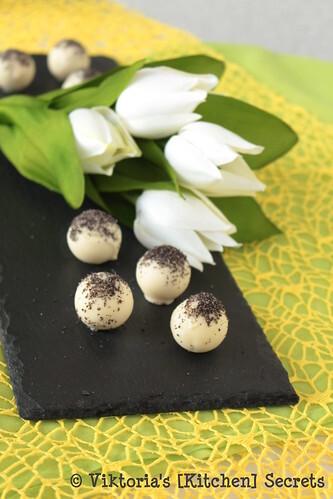 Eier- Mohnlikör Pralinen