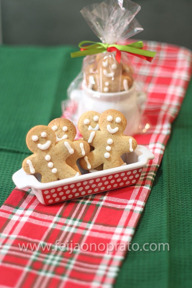 Comidinhas para presentear – GINGERBREAD MEN